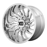 Xd Series Xd858 Tension 22x10 -18 Candy Red Milled Wheel 6x139.7 6x5.5 Qty 4