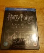Harry Potter And The Deathly Hallows Part 1 Blu-ray Steelbook Region-free Film 7