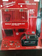 Milwaukee M18 Redlit High Op Hd 5.0 Starter Kit And 8.0 Battery And Oscillating Tl