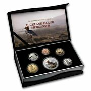 2021 New Zealand 6-coin 1 Oz Silver Currency Proof Set - Sku232346