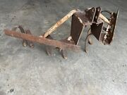 Brinly Cultivator Category 0 Three Point Hitch Hitch Cub Cadet John Deere