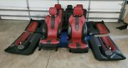 Range Rover Evoque 12 - 15 Red / Black Interior Seats And Door Panels 2dr Coupe