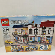 New Lego Creator 31026 Bike Shop And Cafe 1023pcs 3 In 1 Building City Figures Car
