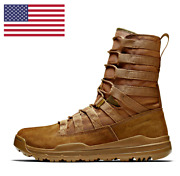 Nike Sfb Gen 2 Lt 8 Military Army Coyote Leather Boots 922471-900 [all Sizes]