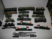 Bachmann Etc. Ho 17 Pc. Military Set Sold For Parts Only Lot 20911