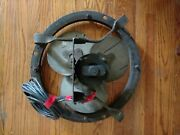 Antique American Standard Factory Fan Industrial Removed From Factory Demolished