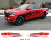 Large American Flag Vinyl Decal Graphics For Any Cars Trucks Boat Trailer Rv