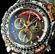 52mm Reserve Sa Specialty 4.14ctw Black Spinel Hydroplate Graffiti Watch