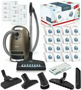 Miele Complete C3 Brilliant Canister Vacuum Cleaner W/ Sf-ha50 Performance Pack