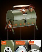 Portable Outdoor Bbq Grill Patio Camping Picnic Barbecue Stove Suitable For 3-5