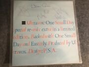 Signed Ultravox Ep 12 One Small Day Rmx Uk 1984 Autographed By All Midge Ure Nm