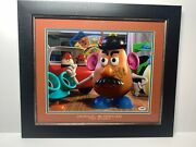 Don Rickles Signed And Framed Mr. Potato Head Toy Story 17 X 20 Photo Psa Aa6035