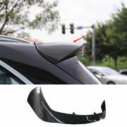 Fit For 2014-2018 Bmw X5 F15 Dry Carbon Fiber Roof Boot Spoiler Wing Flap 1pcs