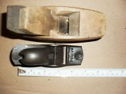 Hand Plane Small /mini/tiny Plane Vintage- Wooden And Metal Planes