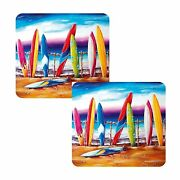 Surfand039s Up Coffee Coasters Set Of 8 Australian Summer Collection
