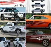 Xxl Size American Flag Decal Graphics Best For Car Truck Boat Trailer Camper