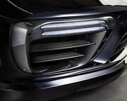 2017 Porsche 991.2 Turbo And S Front Bumper Carbon Fiber Retaining Frames And Blades