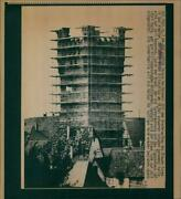 Wimpfen Reconstruction Blue Tower Bad Which Had - Vintage Photograph 3742324