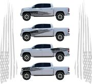 American Flag Graphics Decal For Trucks Cars Boat Trailer Set For Left Right