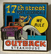 Outback Steakhouse Restaurant 17th Street Fort Lauderdale We Rule Pin Pinback