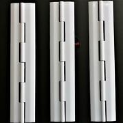 3x Acrylic Hinge 150mm White Continuous Acrylic Piano Hinges