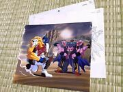 Things At The Time Trans Formers Beast Wars Lion Convoy Galvatron Cell Painting