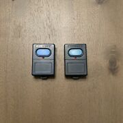 Vintage Clicker Single Button Garage Door And Gate Opener Fob Lot Of 2