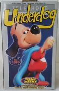 Teeny Weeny Underdog Maquette Eletric Tiki Design 2004 Ultra Rare Factory Sealed