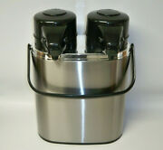 Coox Twin 2 In 1 Air Pot Stainless Steel Thermal Beverage Dispensers
