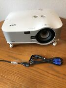 Nec Np3250w Lcd Projector Wireless 93 Percent Lamp Life Left Only 146 Hours Used