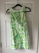 Lily Pulitzer Dress White And Green