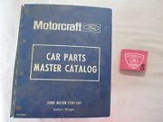 1980-1989 Ford Lincoln Mercury Master Parts And Illustration Catalog