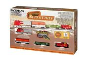 Bachmann 24021 N Scale Super Chief Electric Train Set With E-z Track System