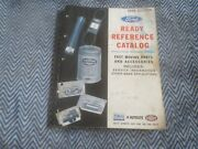 1966 Ford Ready Reference Fast Moving Master Parts Catalog Mustang Galaxie Torin