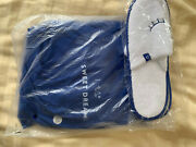 New Sealed American Airlines Casper First Class Blue Pajamas Slippers Medium