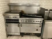 60 Inch Wolf Range/flat Top Grill/ Salamander/ Double Oven