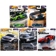 Hot Wheels 2021 Premium Fast And Furious L Fast Stars - Pick And Choose