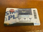 2008 Pittsburgh Penguins V Flyers Quarterfinals Playoff Suite Hockey Ticket