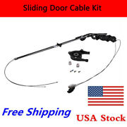 Complete Power Sliding Door Cable Repair Assembly Kit F Toyota Left Drivers Side