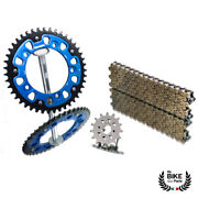Bmw Chain Kit S 1000 Rr Hp4 Blue Chain 525 Hx Extra Reinforced 17/45