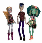 Monster High Doll Lot With Accessories.slo No Sloman,honey Swamp,abbey Bominable