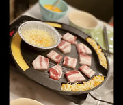 Korean Bbq Egg Grill Pan, Even Heating And Easy To Clean, Perfect For Pork Belly
