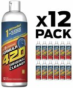 Formula 420 Original Cleaner 12 Pack Glass Cleaner 12 Oz -12 Packfree Shipping