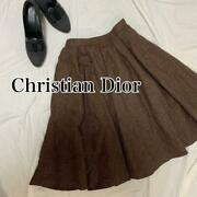 Christian Dior Christian Dior [reference Price] Andyen 33000 Flared Skirt M No.219