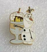 Disney Dsf Dssh Olaf From Frozen Pin Traders Sundae Gwp Le 500 Ptd Pin