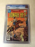 Jonah Hex 2 Cgc 9.6 Nm+ White Pages 1977 Dc Weird Western 1st El Papagayo