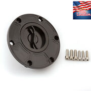 For Rs125 Rs250 Rsv1000 Mille Tuono Shiver Cnc Gas Cap Tank Fuel Cover Oil Usa