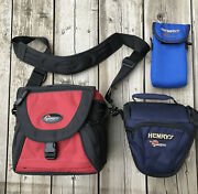 Lowepro Camera Bags Lot Of 3 Slightly Used Or Not Used