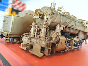 Rare Brass Nyoandw W2 2-8-0 Steam Loco Nickel Plate Ho Can Motor And Runs Great
