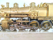 Rare Brass Erie G15a 4-6-0 Steam Loco Nickel Plate Ho, Can Motor And Excellent
